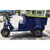 Electric Three Wheeler Garbage Loader