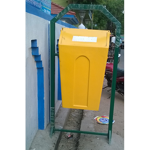 Road Side Bin With Stand