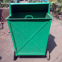 Four Wheeler Fiber Dustbin