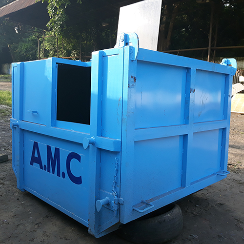 Cover Type Dumper Placer Bin