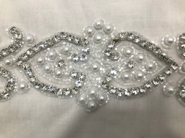 Exclusive Crystal work belt
