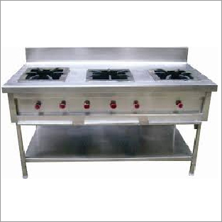 Three Gas Burner Range