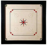 Carrom Board  4 x 2 Inch Border 12mm Ply