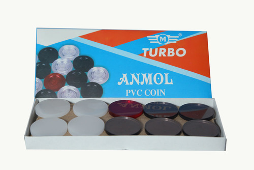 Carrom Men Acrylic Anmol