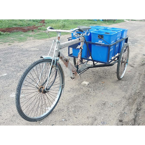 40 Ltr  Tricycle  Bin