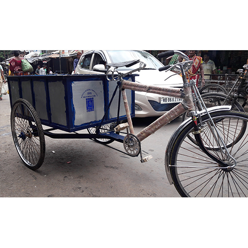 Tricycle Waste Container