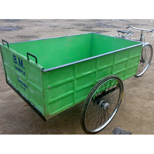 Garbage Transporter Tricycle
