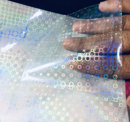 transparent holographic film