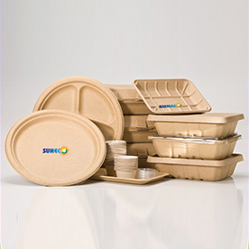 Bio-Degradable Disposable Plate and Bowl