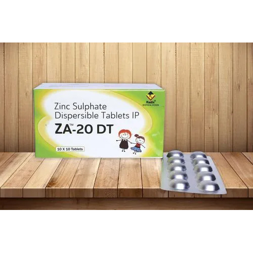 Zinc Sulphate 20 mg Dispersible Tablet