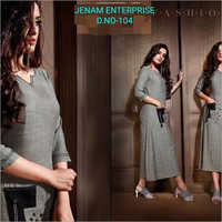 Ladies Fancy Cotton Kurti