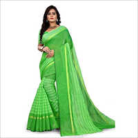Ladies Soft Cotton Saree