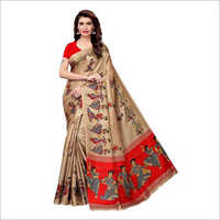 Ladies Khadi Silk Saree