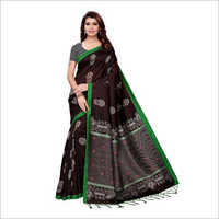 Ladies Black Kalamkari Saree