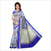 Ladies Bhagalpuri Floral Printed Saree