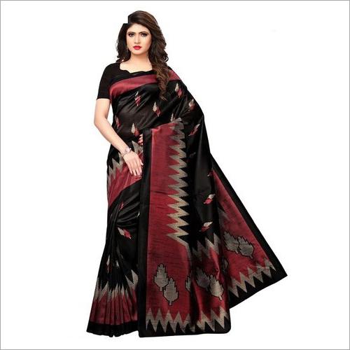 Ladies Bhagalpuri Printed Saree