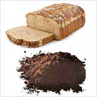 Roasted barley malt flours