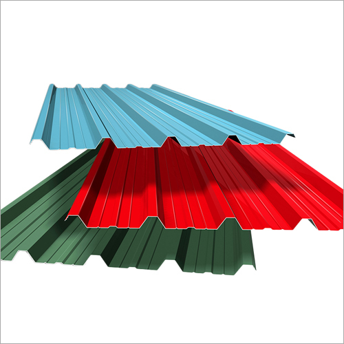 Colour Coated Corrugated Sheet