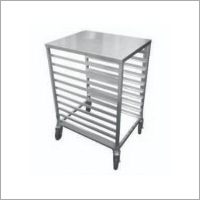 SS Tray Rack Trolley