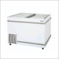 Sliding Door Chest Freezer
