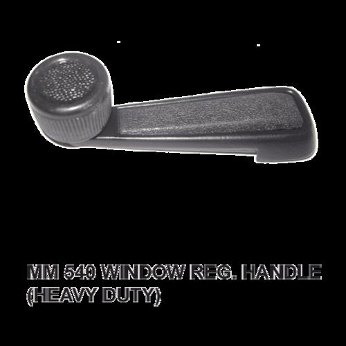MM 540 WINDOW REG. HANDLE HEAVY DUTY