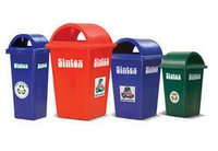 Gbr 08-01 Rectangular Waste Bins Size Height 875 mm