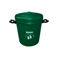 Green Plastic Sintex House Hold Bucket Size: 20 Liters