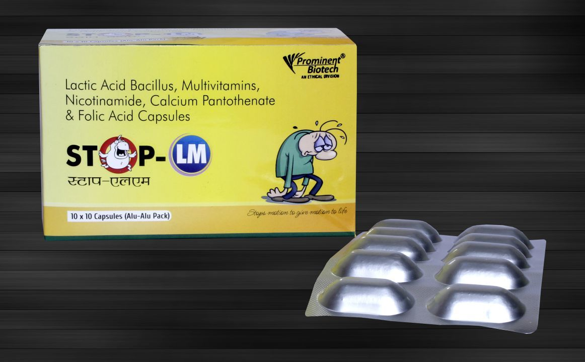 Lactic Acid Bacillus 40 MS with Multi Vitamin