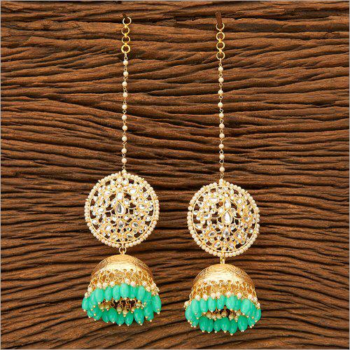 Gold Plating Indo Western Jhumki