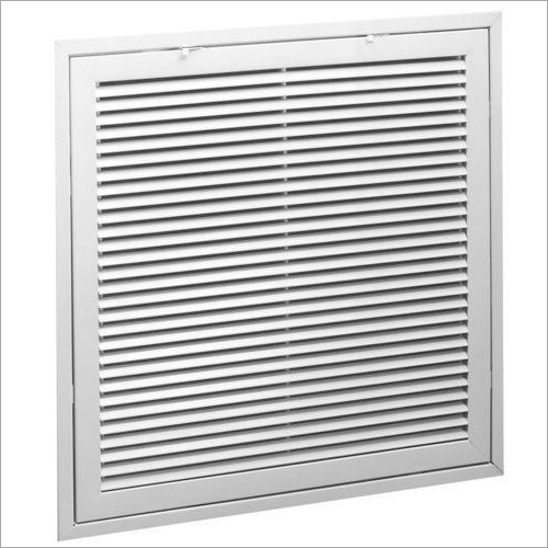 Fixed Bar Air Filter Grille
