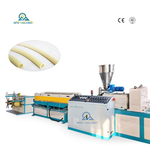 PVC Electric Conduit Corrugated Pipe Machine