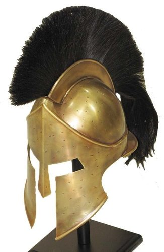 300 Movie Spartan King Leonidas Medieval Roman Helmet