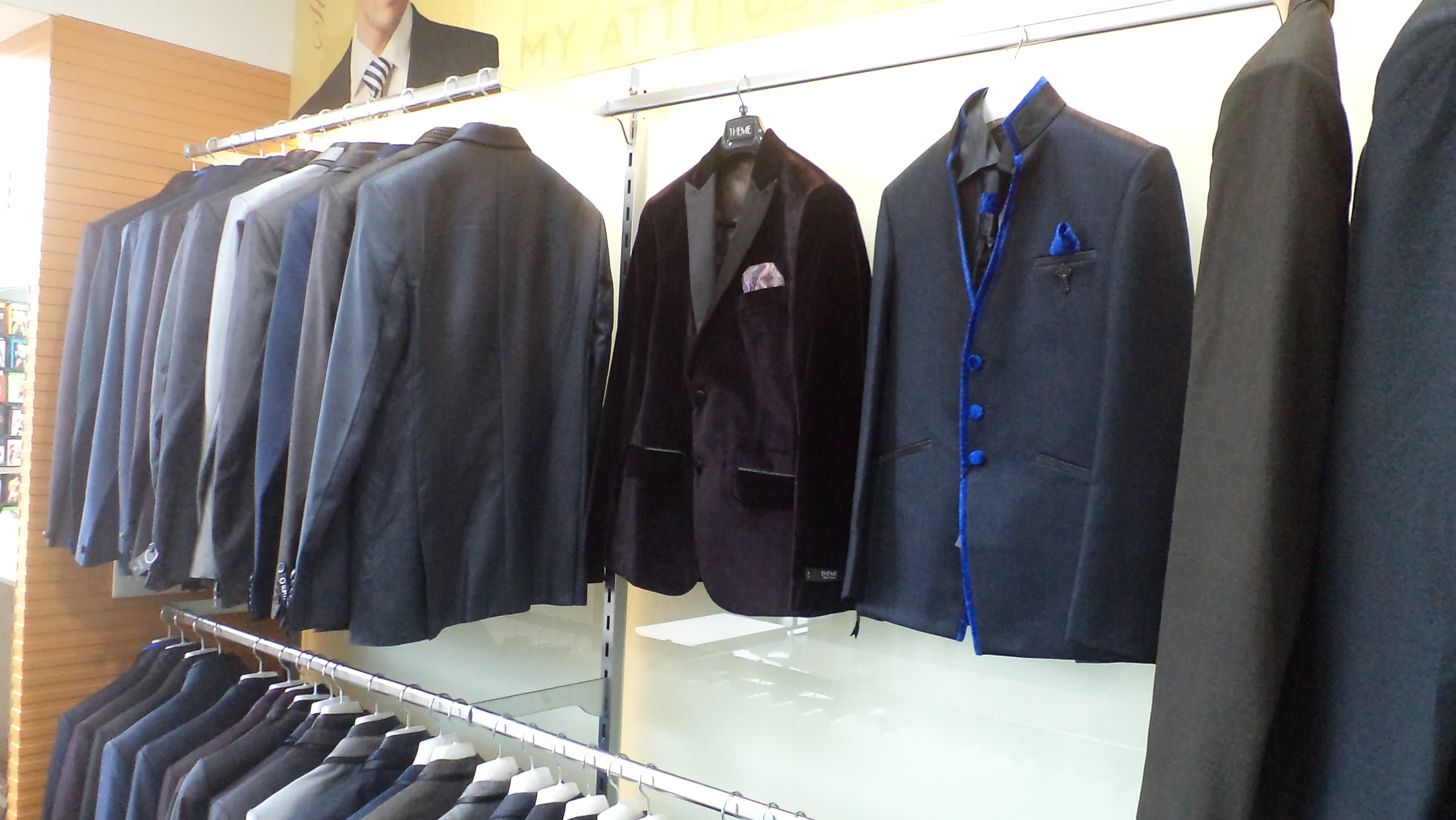 Garment Display Storage Racks
