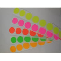 Round Color Coding Adhesive Label