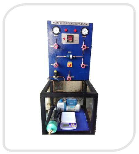 Evacuating and Refrigerant Charging Station