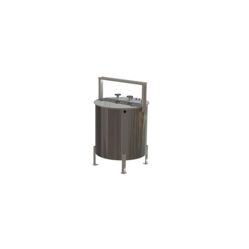 Titanium Tank ( Titanium Gold Refining Nitric Acid & HCL Tank )