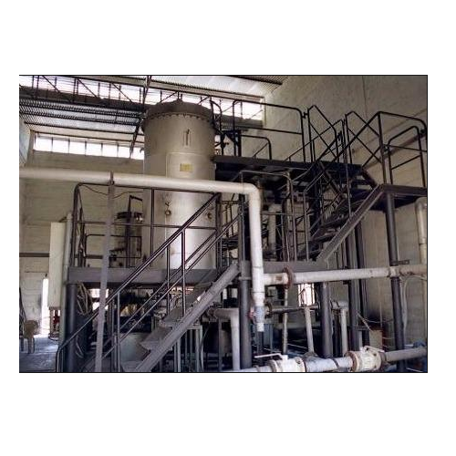 Charcoal Based Carbon Dioxide Plant
