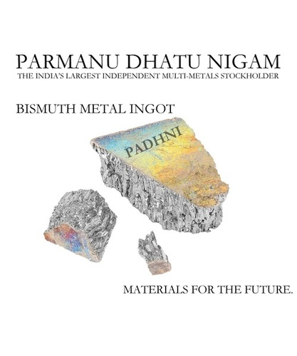 Bismuth Metal Ingot