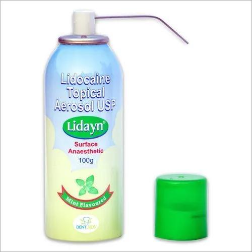 Lidocaine Topical Aerosol Spray