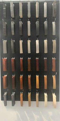 PVC table edge fittings/woodgrain edge banding