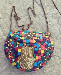 Handmade Designed Metal Bag