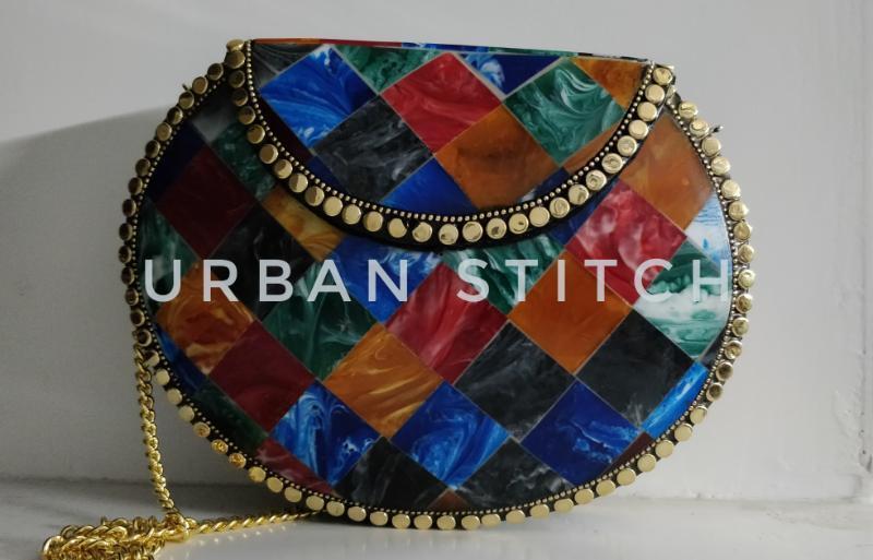 Designer Handmade Metal Bags