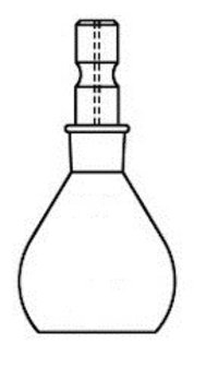 Weighing Bottles Squate Form Cap Type (Laboratory Glassware)