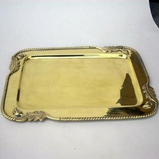 Brass Tray Rectangle Shape