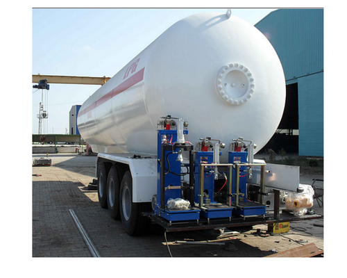 LPG Mobile Tanker With Different Capacities