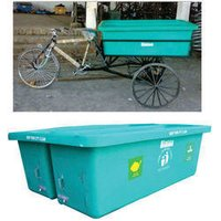 Sintex Plastic Dustbin Container for Pedal Cycle Rickshaw