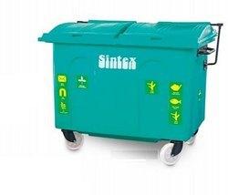 Sintex Open Top Giant Wheeled Waste Bin for Industrial & Community Use