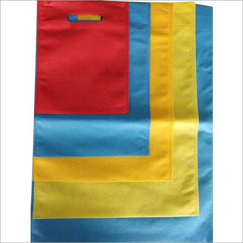 Plain Non Woven D Cut Bags