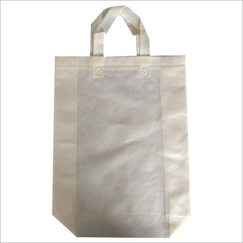 Plain Non Woven Loop Handle Bag