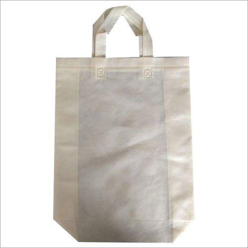 Plain Non Woven Loop Handle Bag
